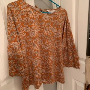 Lauren Conrad Bell Sleeve Top
